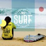 CLAIRE GUYOT DESIGN identite visuelle championnats de france de surf 1